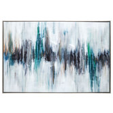 Color Blur Canvas Wall Decor